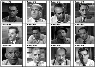 12 Hombres en Pugna (Película Completa subitulada)